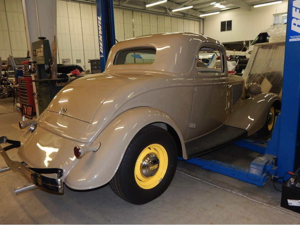 Almost Restored Rare 1933 Ford Model 40 Three Window Coupe | Ford ...