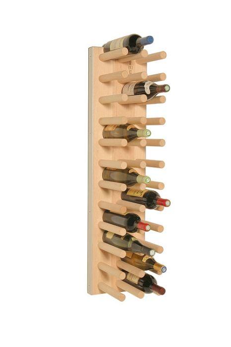 Fakir Line Quatro 24 33 Bouteilles Hetre Rangement Bouteille De Vin Porte Bouteille Etageres A Bouteilles De Vin