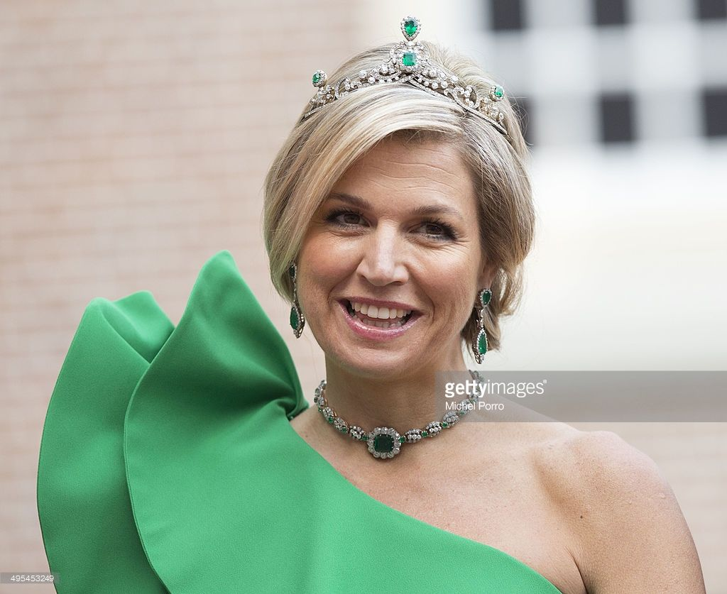 Queen Maxima Of The Netherlands Arrives For Dinner At The Loo Royal Palace On June 3 2014 In Apeldoorn Netherlands Photo By Michel Porro Getty Images