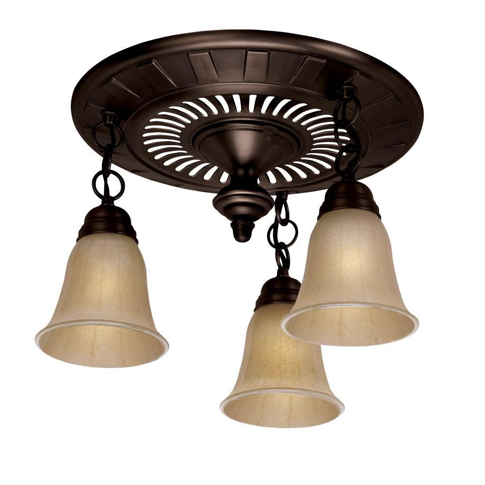 Hunter Garden District Decorative Rubbed Bronze 70 Cfm Ceiling