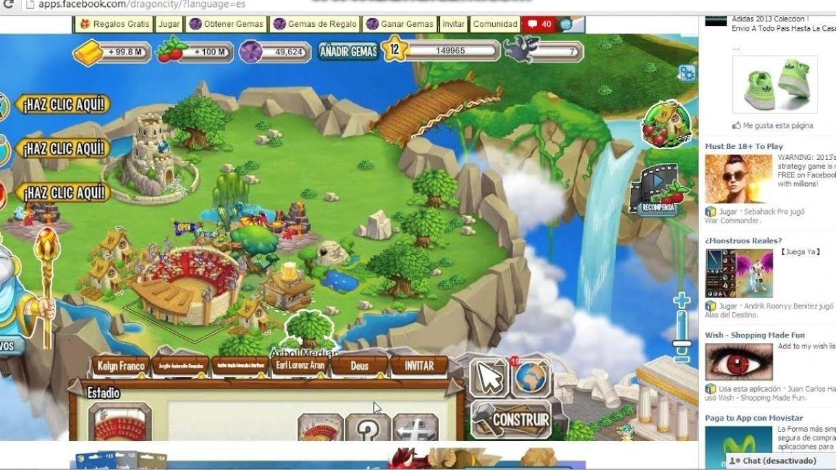 Hack De Dragon City Gemas Comida Y Oro Dragon City No In 2021 City Hacks Dragon City City