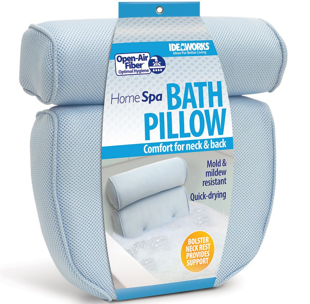 The Spa Pillow gives you a comfortable place to rest while sitting ...