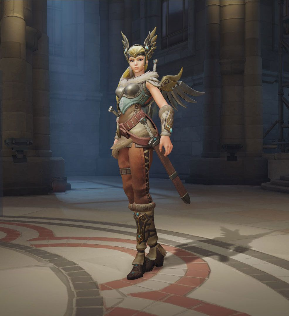 Mercy Overwatch Valkyrie Skin Cosplay To Do List