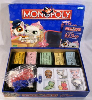 Monopoly Is Here To Stay There Are So Many Fun Versions Out There Now This One Is So Adorable With It S Littlest Pe Lps Littlest Pet Shop Lps Toys Lps Pets