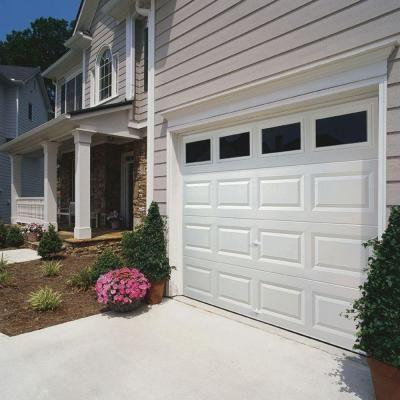 Clopay Value Series 8 Ft X 7 Ft Non Insulated White Garage Door With Plain Windows Hdb Sw Plain The Home White Garage Doors Garage Doors Garage Door Design