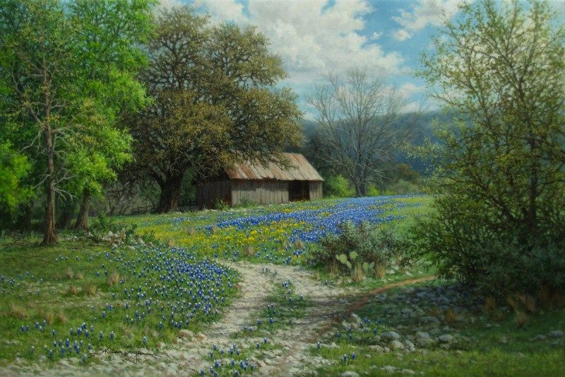 Landscape oil painting giclee prints by William Hagerman