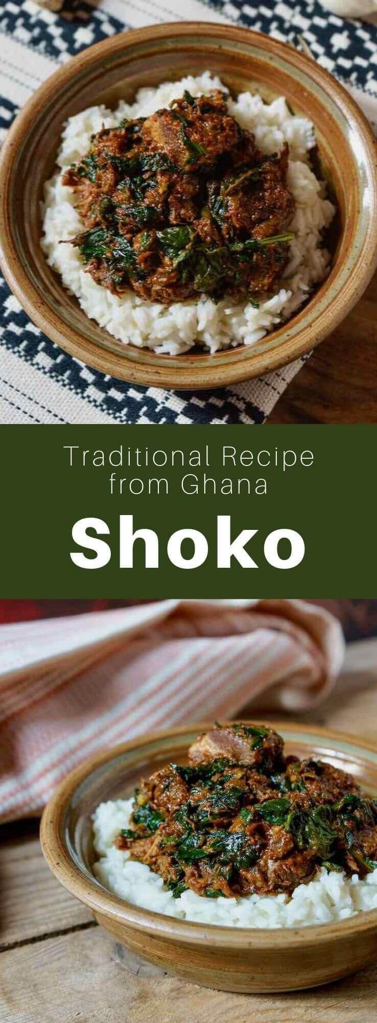 Ghana Shoko Beef And Alefu Stew In 2020 Ghanaian Food African Food Recipes