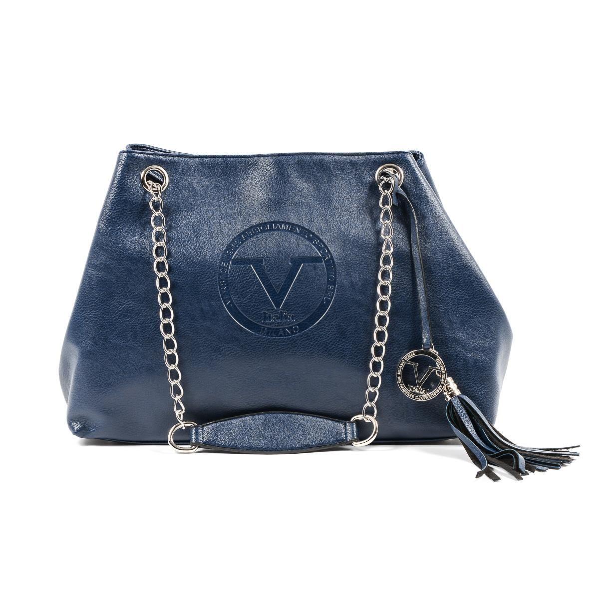 8fc7d81376 V 1969 Italia Womens Handbag Dark Blue MARION