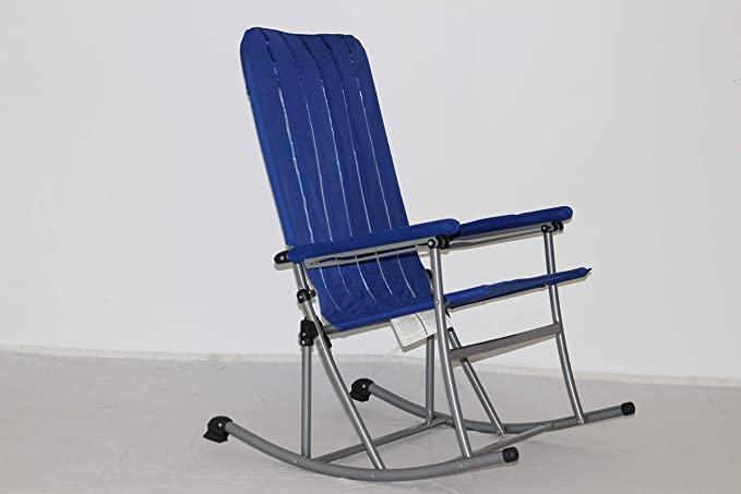 Amazon Com Premium Patio Outdoor Folding Rocking Chair Blue Kitchen Dining Folding Rocking Chair Rocking Chair Outdoor Furniture Protection