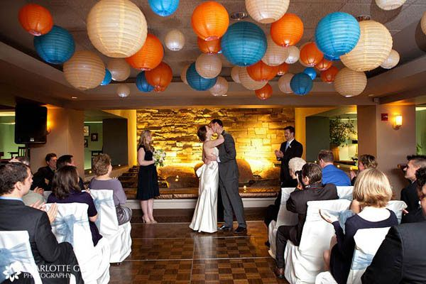 Wedding table decorations in blue white orange and yellow wedding table decorations in blue white orange and yellow wedding ideas ideas junglespirit Image collections