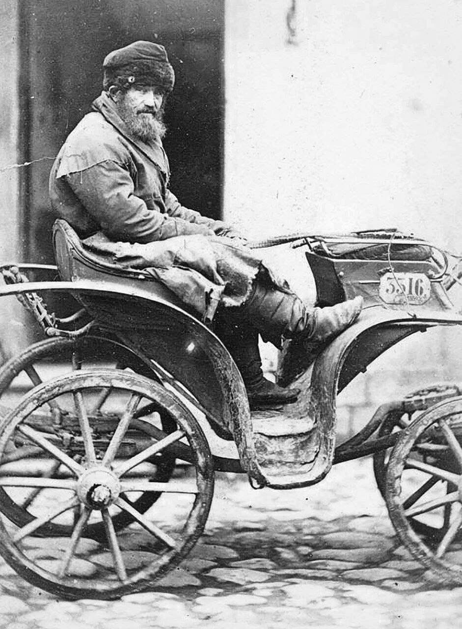 Извозчик (Ямщик), Российская империя, 1873 год ...  извозчик