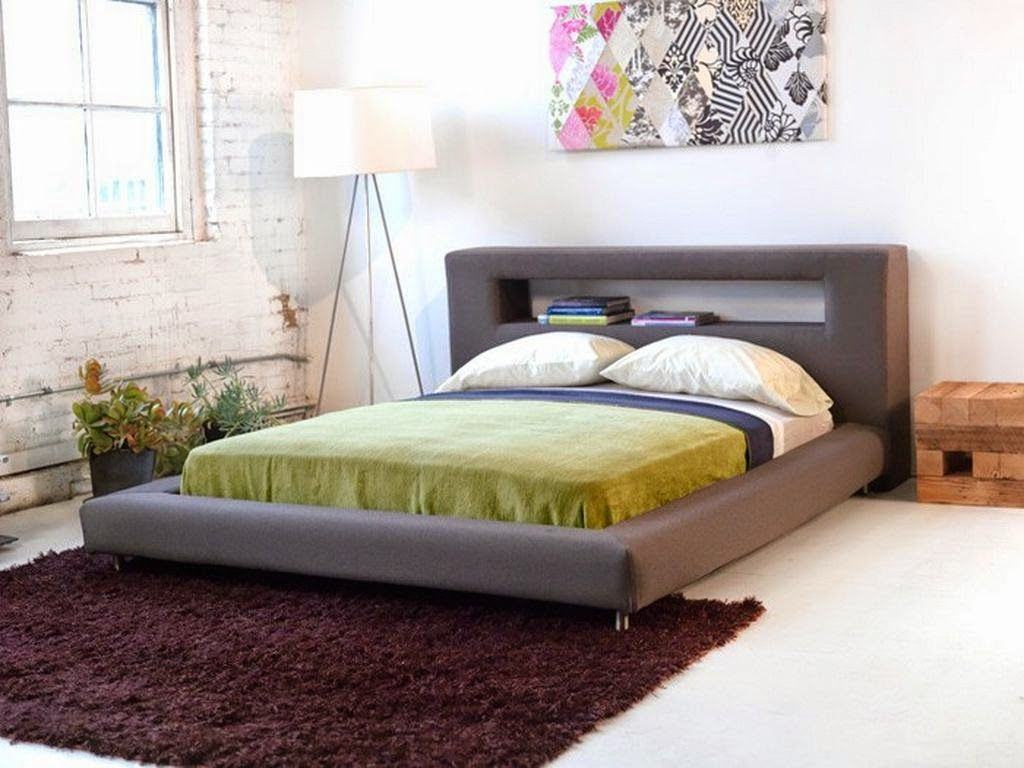 Beautiful Platform Bed Headboard Ideas Part - 13: Contemporary Headboard Ideas For Your Modern Bedroom