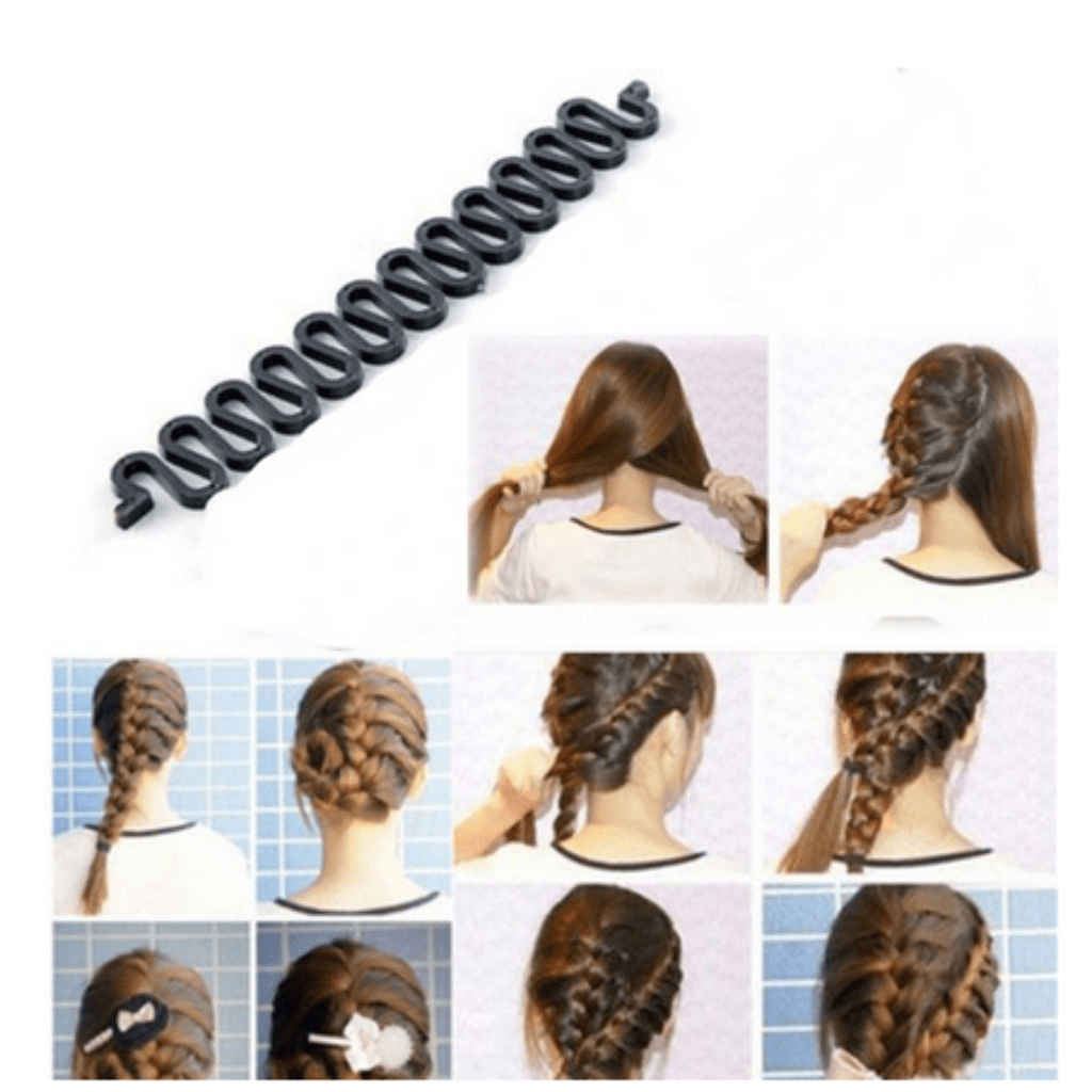 Style Your Hair With This Hair Braiding Roller Twist Maker This Make Simple And Elegant Hair Style It D Hair Braiding Tool Hair Braid Maker French Twist Hair