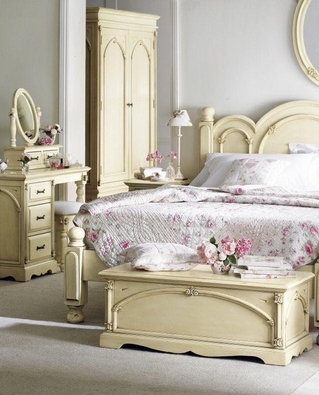 Décoration de la chambre romantique- 55 idées Shabby Chic | Shabby ...