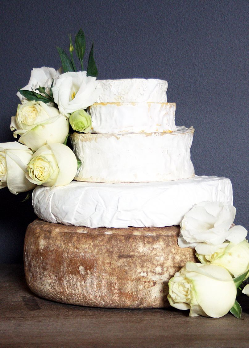 Top 10 Unique Wedding Styling Ideas | Cheese tower, Cheese cakes and ...