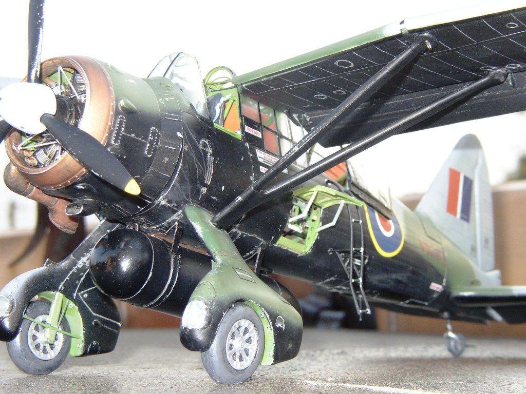 Maquette - Westland Lysander Mk IIIa Special Duty