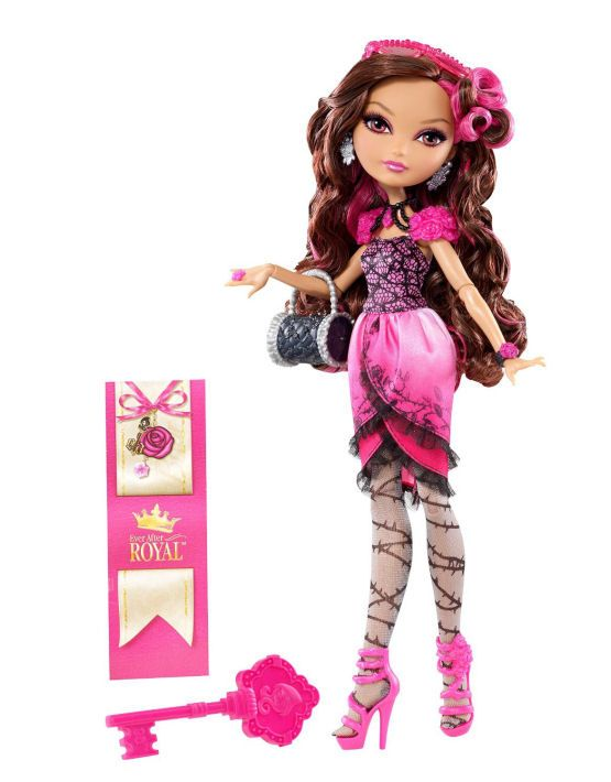 Ever After High Doll~Ashlynn Ella~1st Chapter~Earrings~Necklace~Bracelet