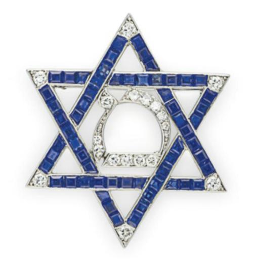 Brooch Cartier Christie S Diamond Star Star Of David Brooch