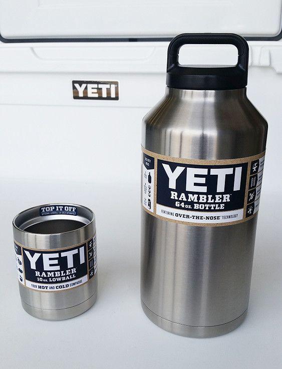 Yeti Rambler 64 Oz Bottle Lowball Combo Mugs Cups And Mason