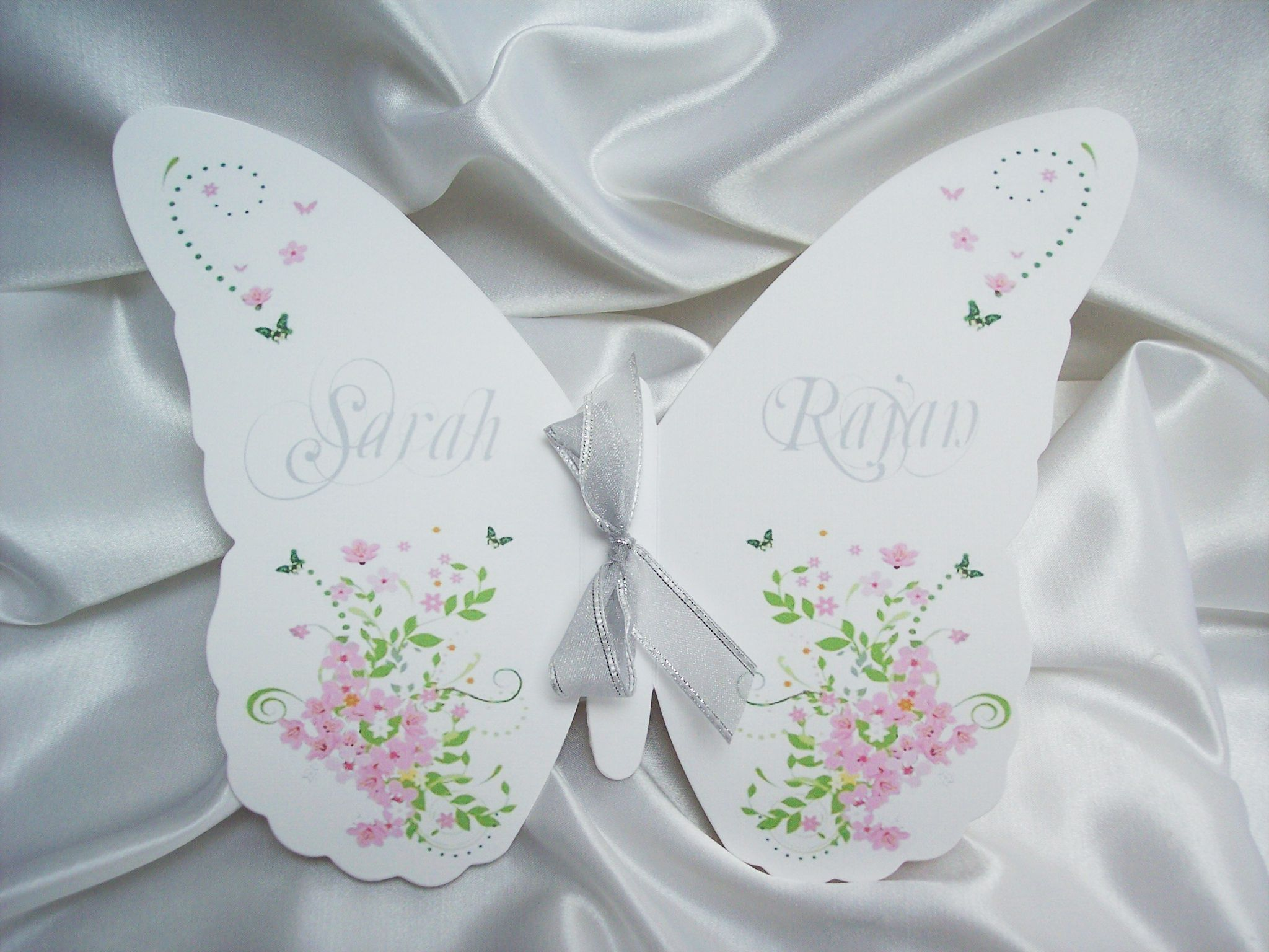 free wedding program templates butterflys | Butterfly Programs | www ...