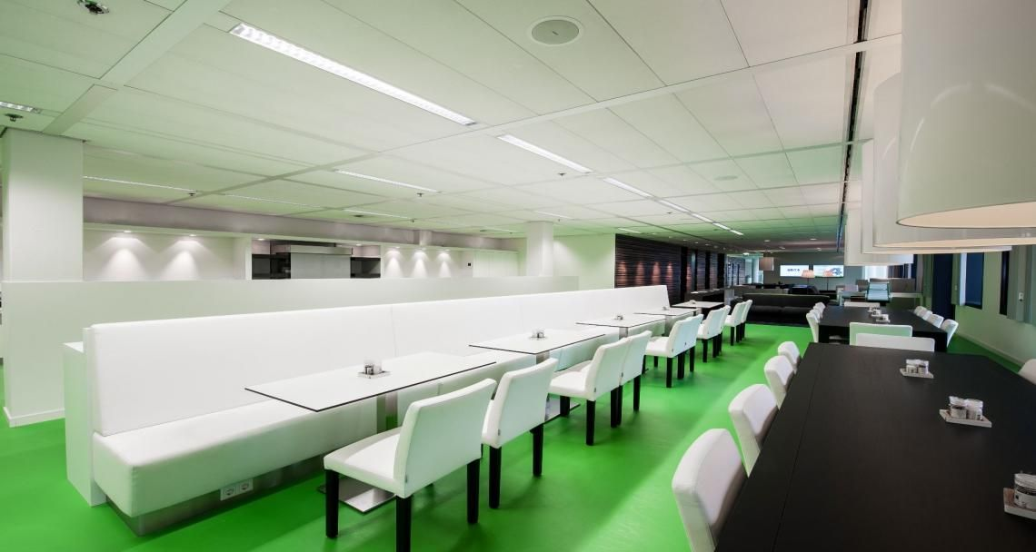 Cafeteria into the premises of Unit 4 in Utrecht, The