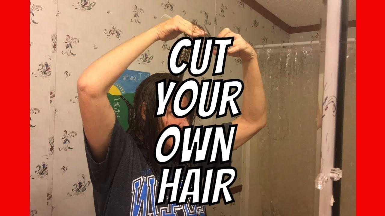 How to Cut Your Own Hair, Ladies AldermanFarms Diy
