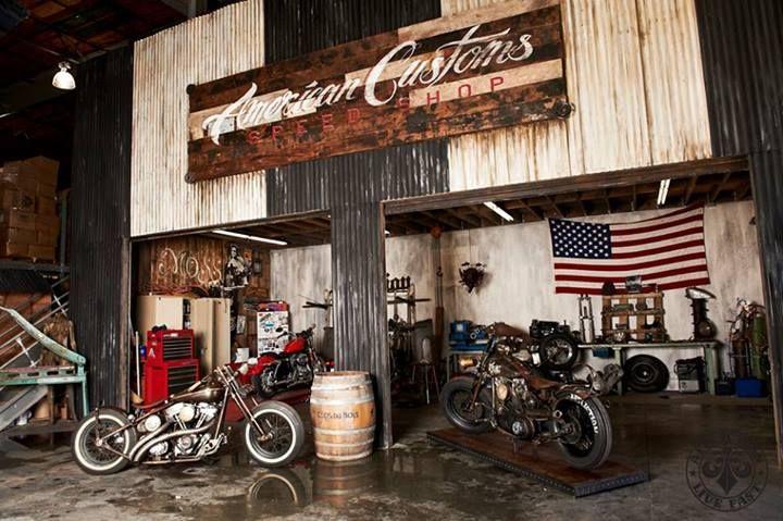Man Cave Store Las Vegas : Custom hot rod shop or affliction break room motors