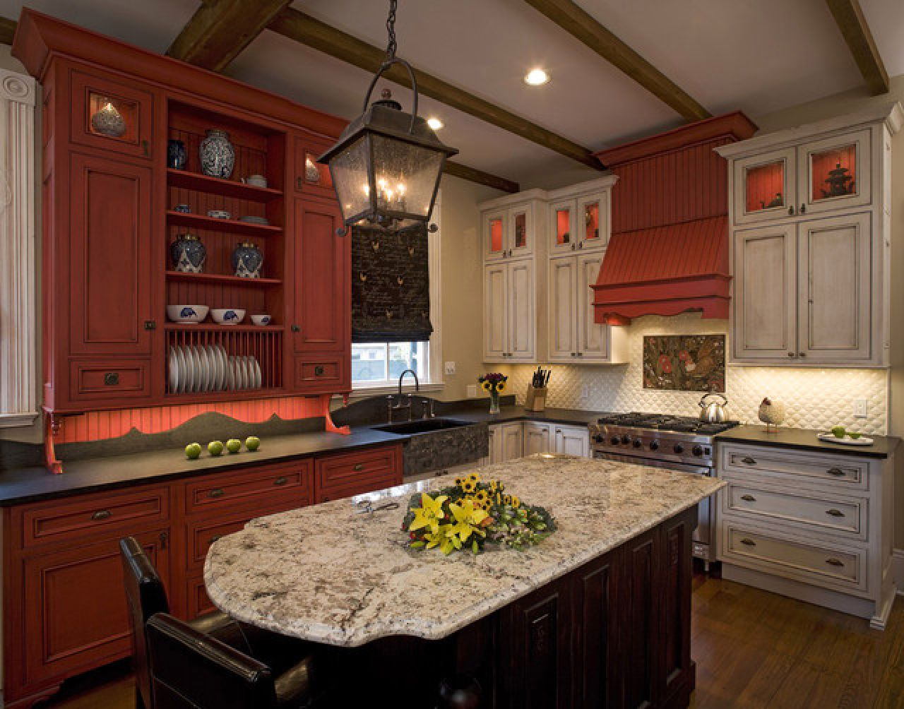 Inspirational Traditional Chinese Kitchen Design Asian Kitchenss Kitchen Cabinet Colors Red Kitchen Cabinets Traditional Kitchen Design