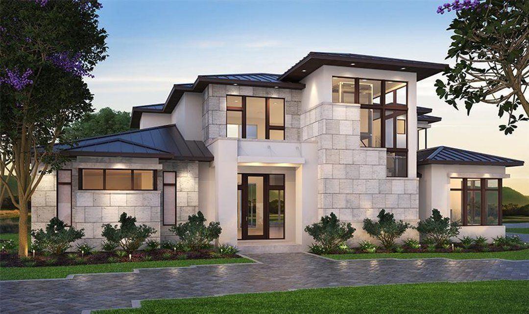 Hpm Home Plans Home Plan 009 4350 Modern Mediterranean Homes