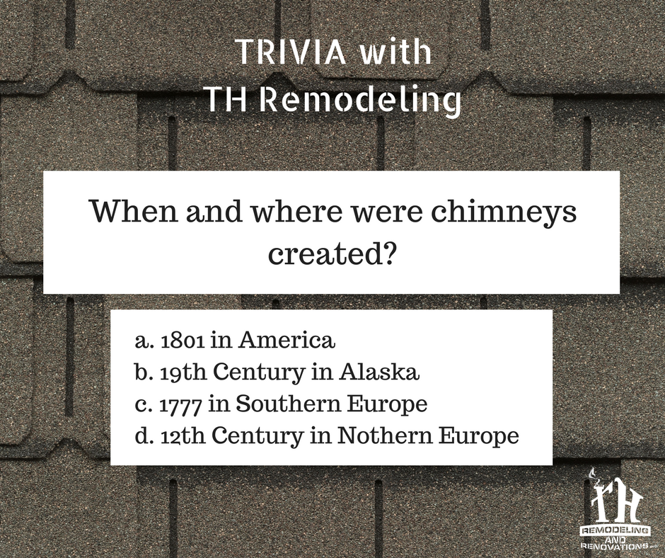 It S Time For Some Trivia With Th Remodeling Thtrivia Triviawednesday Trivia Roofing Remodel Roofing Services Roofing