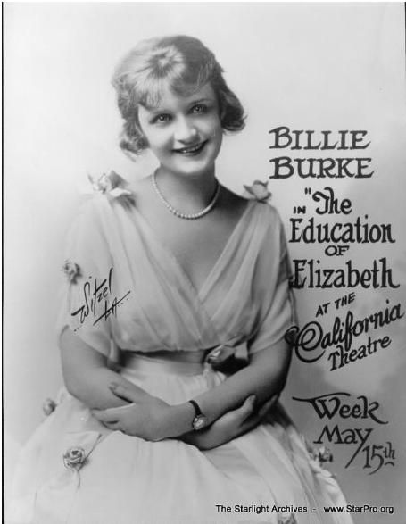 Billie Burke circa1921