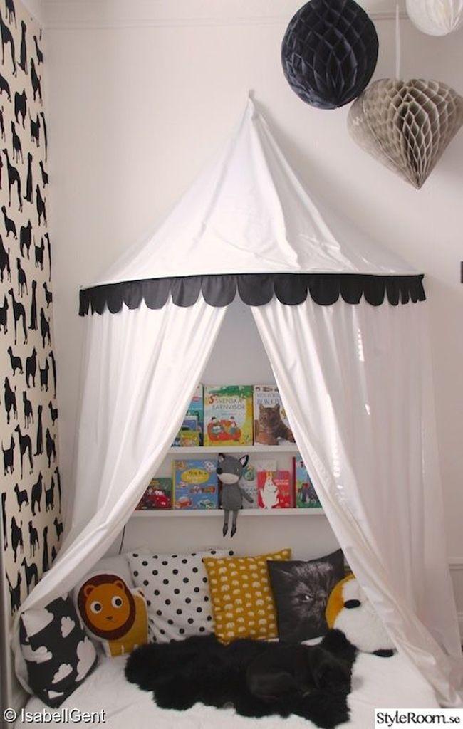 Rincones de lectura para niños Estilo Escandinavo linda casa