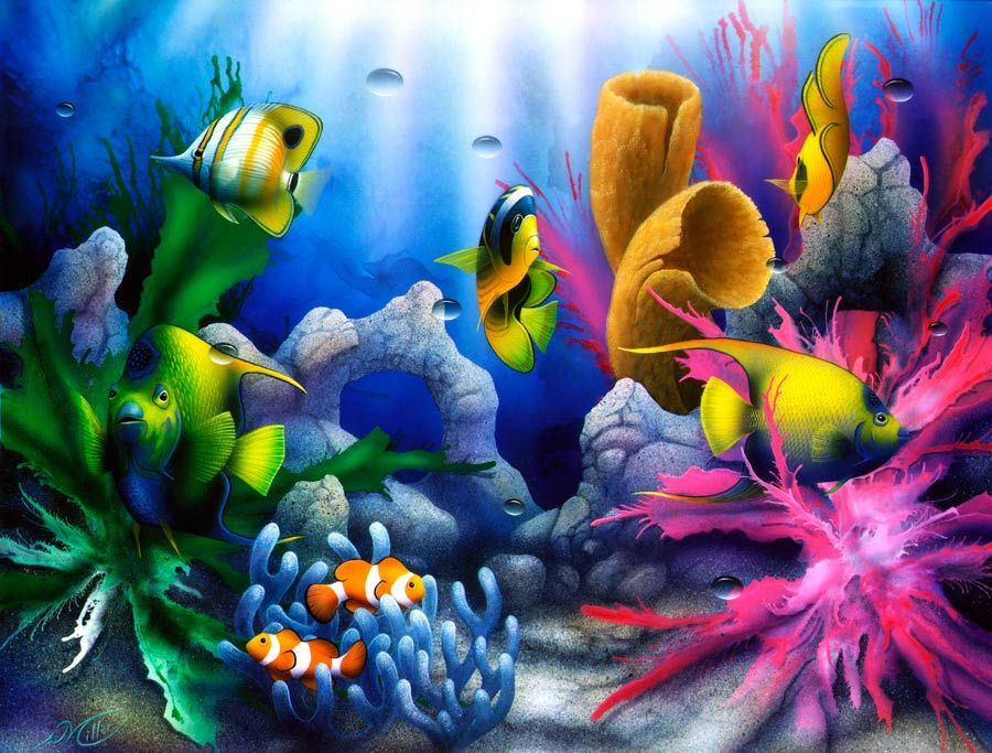 Fish Paintings Abstract Google Search Fish Art