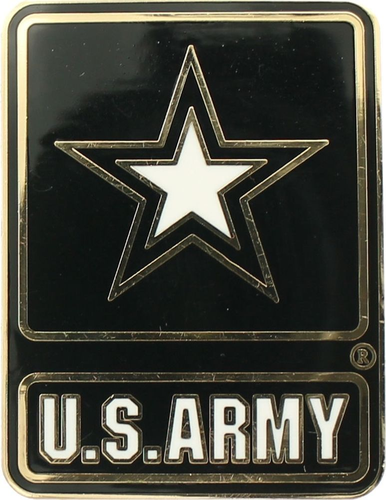 US Army Star Logo Military Officially Licensed US Insignia Pin 1 1 8