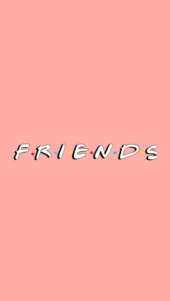 Friends pink iphone wallpaper free to use on We Heart It