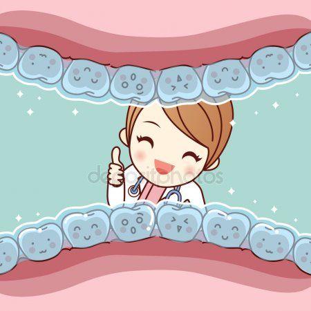 Brackets Invisible De Dibujos Animados Lindo Diente Archivo Imagenes Vectoriales Imagenes De Dentistas Caricaturas De Dentistas Dentistas