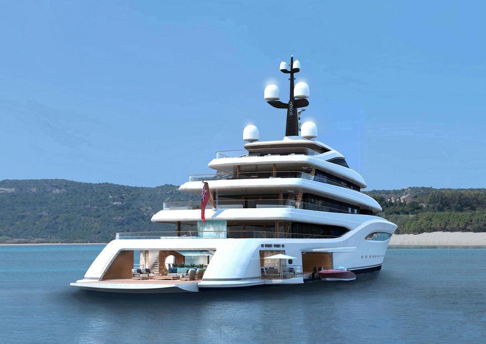 Innenarchitektur Yacht exclusive feadship s 96m project vertigo construction