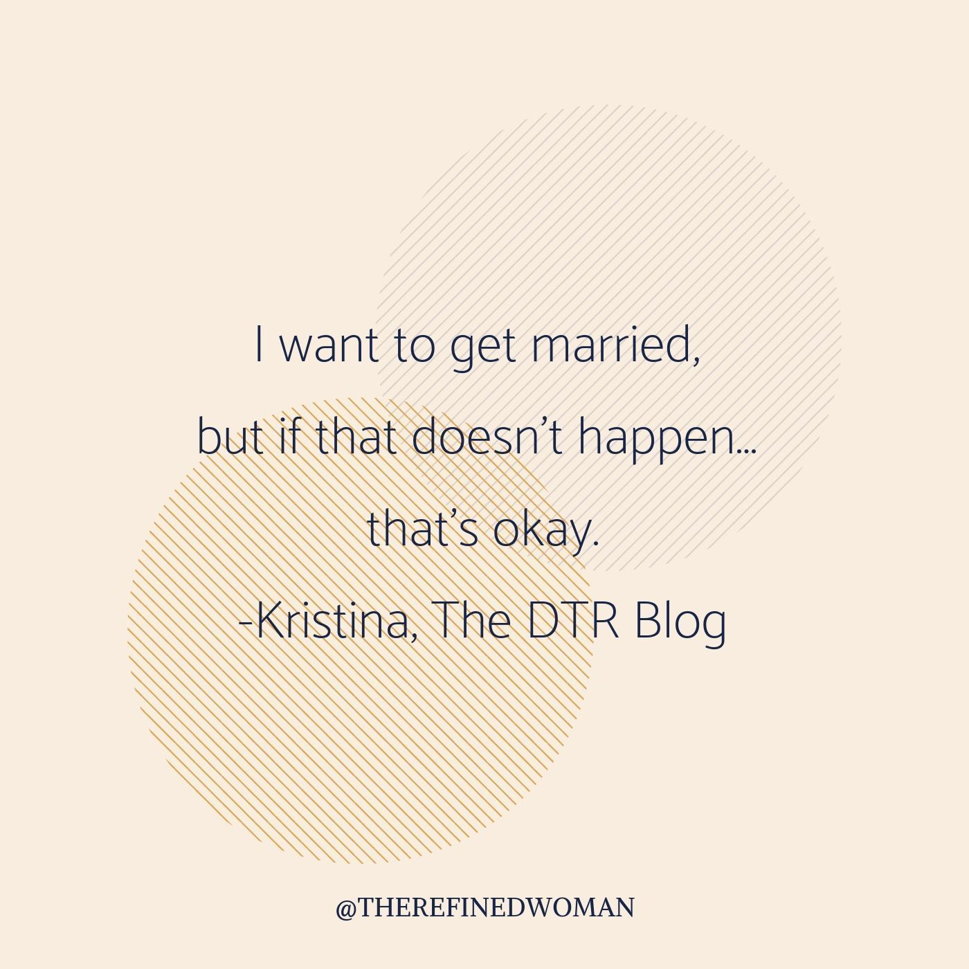 Dtr in christian dating