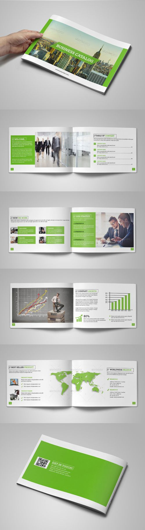 Construction Company Brochure   Brochure template, Brochures and ...