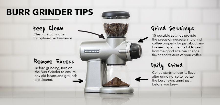 Empire red burr grinder kcg0702er kitchenaid coffee