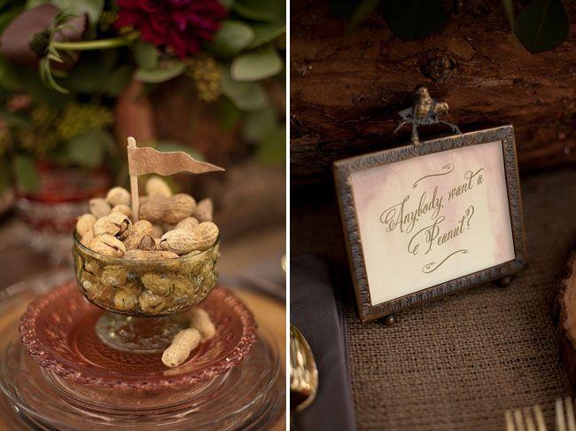 prince bride, rustic tablescape