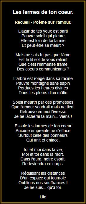 Poèmes Damour En Images Texte Romantique Texte Amour Et