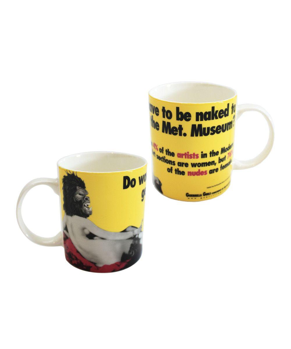 Met. Museum Mug X Guerrilla Girls