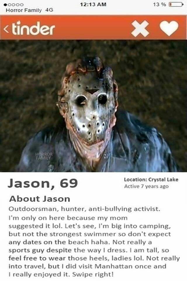 Jason Voorhees tinder