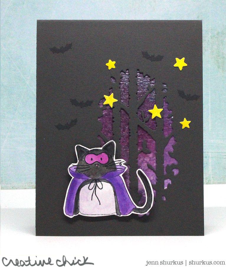 Halloween Inspiration with Simon Says Stamp | shurkus.com