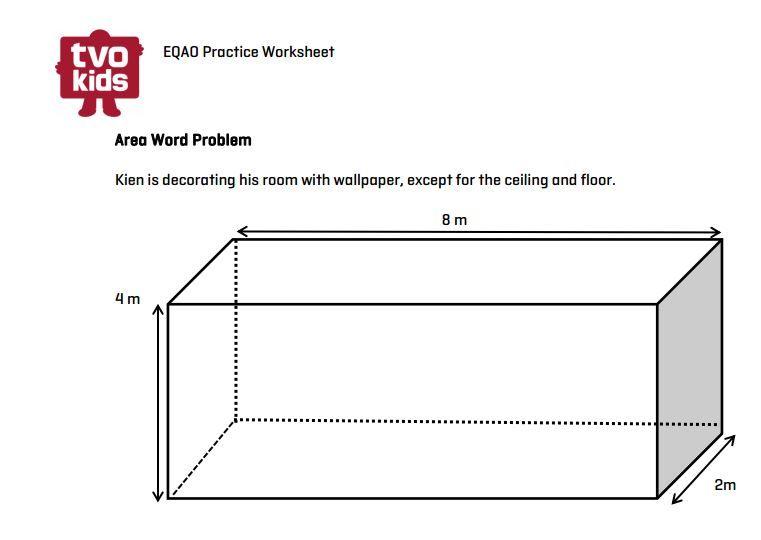 EQAO Math worksheet Symmetry for Grade 6 Download here http – Word Problems for Grade 6 Math Worksheets