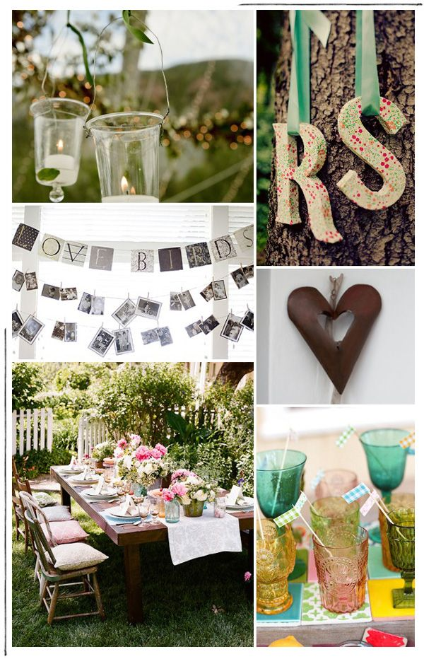 Backyard Chic Reception Party Ideas Mospens Studio Backyard Engagement Parties Engagement Party Engagement Party Wedding