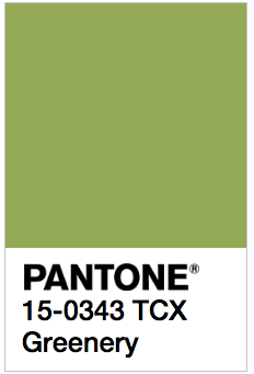 pantone have released their 2017 colour trend predictions greenery add new colors to illustrator 291c