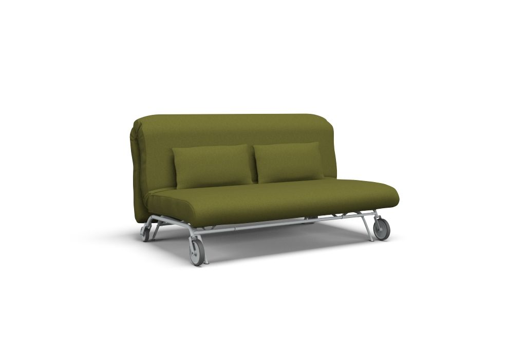 Ikea Ps 2 Sitzer Schlafsofa Bezug Palermo Olive Schlafsofa
