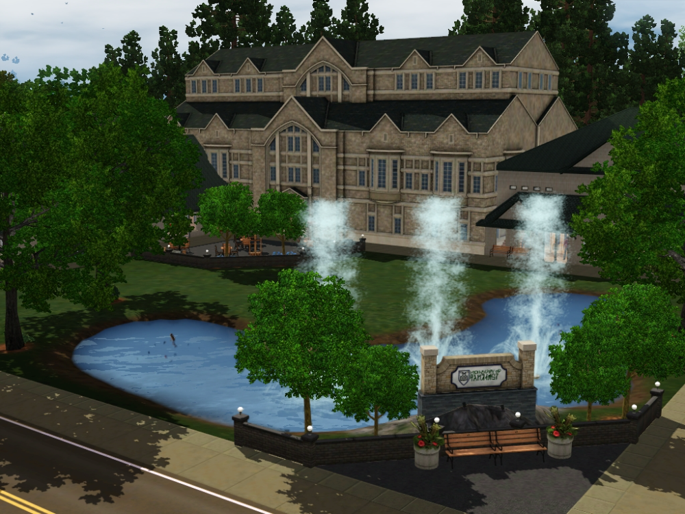Salmon Woods Custom Worlds My Sim Realty Sims 3 Worlds Realty Sims 3